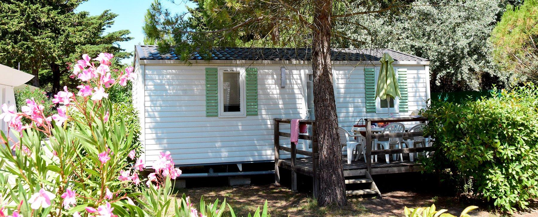 Location De Mobil Homes A La Grande Motte Au Camping Le Garden